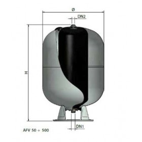 AUTOCLAVI VERTICALE  A MEMBRANA INTERCAMBIABILE 500 LT AFV500  ELBI