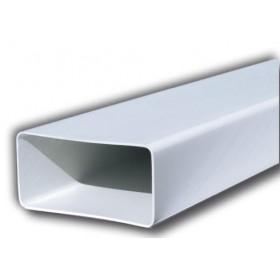 TUBO IN PVC D.150XD.70 PROFILO RETTANGOLARE DA 1,5 MT CT157B PER VENTILAZIONE