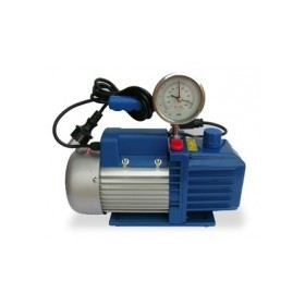 POMPA VUOTO BIST.42LT1/4HP C/ELET+VACUOMETRO TECNOGAS