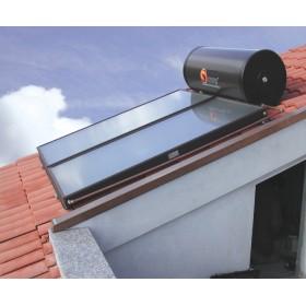 impianto solare 200L  3/4 persone  HE200/2/T per tetto inclinato