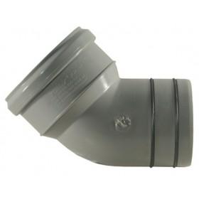 CURVA PAS.PVC/PP D 110X100 45°