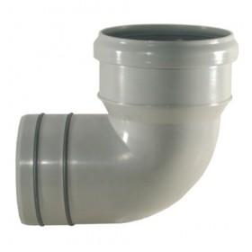 CURVA PASS.PVC/PP C/GUARNIZIONE  D110X100/87°
