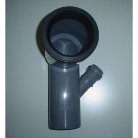 CURVA WC 110/90°1AT.DX D40 C/G.ETAP.