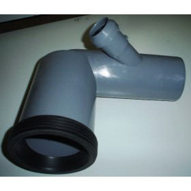 CURVA WC 110/90°1AT.DX D50 C/G.ETA.